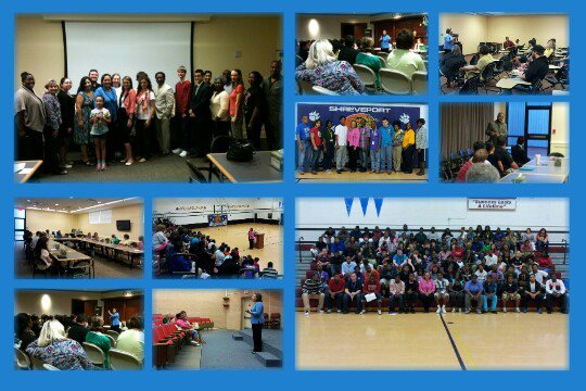 Scenes from the LDP tour of college campuses which began last week.