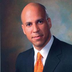 Newark, NJ, Mayor Cory Booker