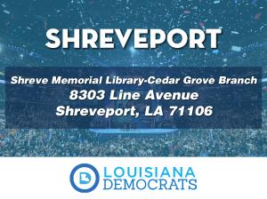polling locations-Shreveport