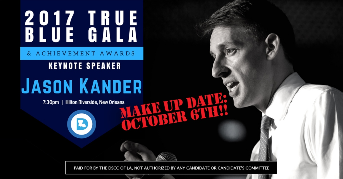 True Blue Gala - October 6th - NOLA